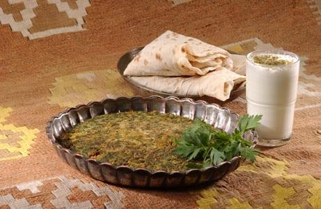 Kräuteromelett (Kukuj-e-Sabzi)